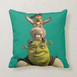Puss nas botas, asno, e Shrek Almofada