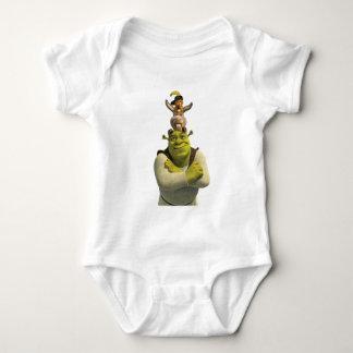 Puss nas botas, asno, e Shrek T-shirts