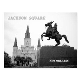 Quadrado de Jackson, Nova Orleães Cartão Postal