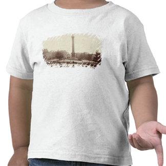 Quadrado de Trafalgar, Londres (foto do sepia) Tshirt