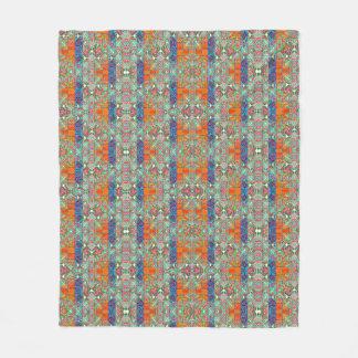 Quadrados do troll cobertor de lã