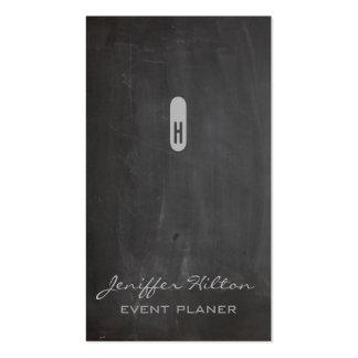 Quadro chique elegante profissional do minimalismo cartões de visitas