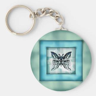 Quadro da borboleta do chaveiro