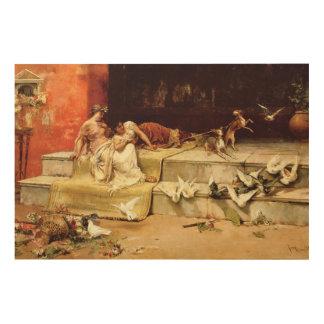 Quadro De Madeira As donzelas romanas por Juan Luna.