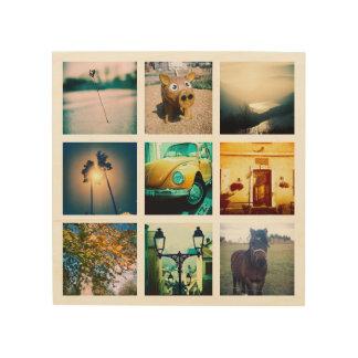 Quadro De Madeira Criar um instagram original e original