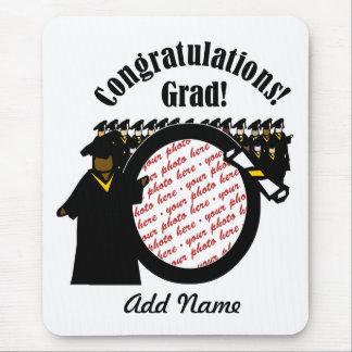 Quadro de recepção graduado da foto do diploma (1) mousepad