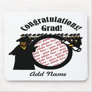 Quadro de recepção graduado da foto do diploma (1) mouse pads