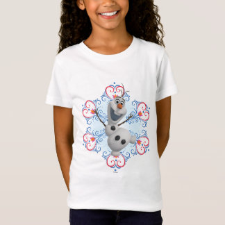 Quadro do coração de Olaf | Camiseta