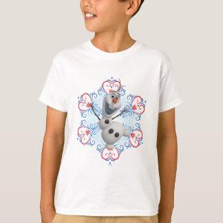 Quadro do coração de Olaf | Tshirts