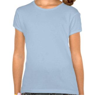 Quando eu crescer acima… a camisa da menina do tshirt