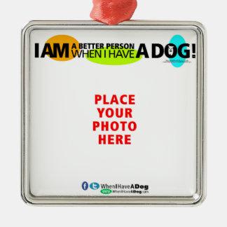 Quando eu mandar um cão o personalizar! Ornamento