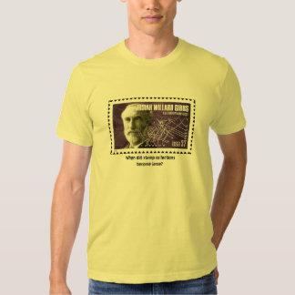 Quando fez as coleções de selo tornam-se… camisetas