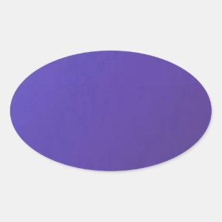 Quando você AMA, você obtem a base azul escuro Adesivos Em Formato Ovais
