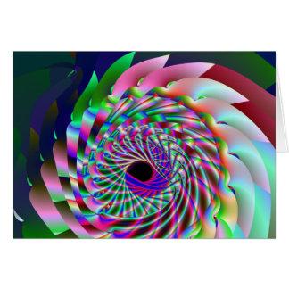 quantum do fluxo cartão comemorativo