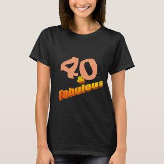 Quarenta & fabuloso camiseta