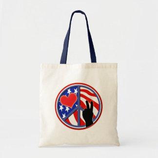 Quarto do amor EUA da paz de julho Bolsa Para Compra