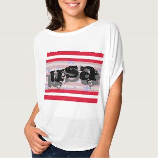 Quarto dos EUA América do Tshirt patriótico de