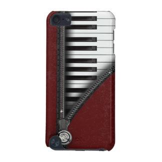 Quatro caso do ipod touch 5 do teclado de piano da capa para iPod touch 5G