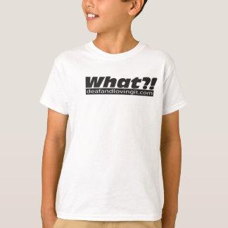 Que?! Camisa