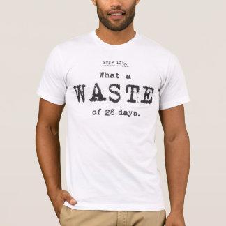 que desperdício camisetas