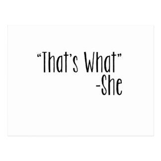 """""""Que é o que"""" - ela Cartoes Postais"""