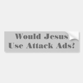 Que Jesus faria? Autocolante no vidro traseiro Adesivo Para Carro