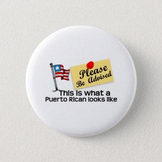 que olhar porto-riquenho gosta bóton redondo 5.08cm