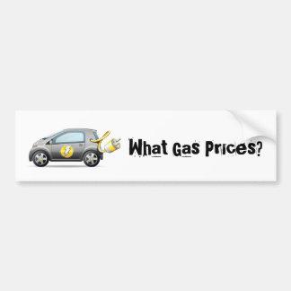 Que preços de gás? Autocolante no vidro traseiro Adesivo Para Carro