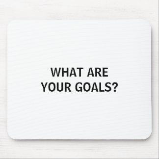 Que são seus objetivos? Mousepad