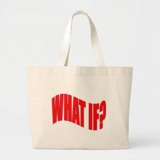 Que se? bolsa para compra