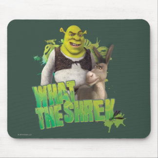 Que Shrek Mouse Pad