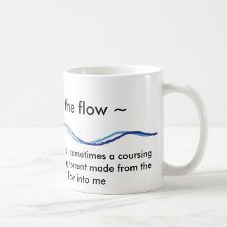 ~ que vai com a caneca do ~ do fluxo