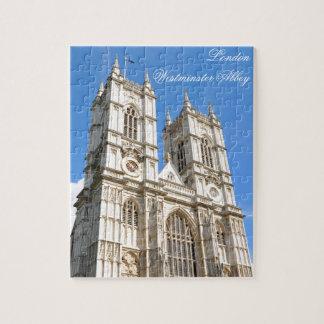 Quebra-cabeça Abadia de Westminster em Londres, Reino Unido