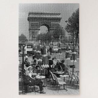 Quebra-cabeça Arco triunfal de France Paris do vintage
