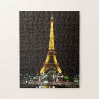 Quebra-cabeça da torre Eiffel