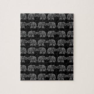 Quebra-cabeça Elefantes indianos