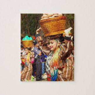 Quebra-cabeça Festival colorido de Panagbenga