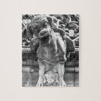 Quebra-cabeça Gárgula da catedral de Munster - Berna - suiça