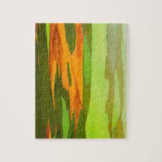 Quebra-cabeça Latido do eucalipto do arco-íris, Havaí
