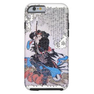 Quebra-cabeça Mase Chudayu Masaaki do ronin de Capa Para iPhone 6 Tough