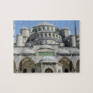 Quebra-cabeça Mesquita azul em Istambul Turquia