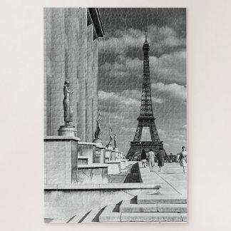 Quebra-cabeça Palácio de Chaillot da torre Eiffel de France