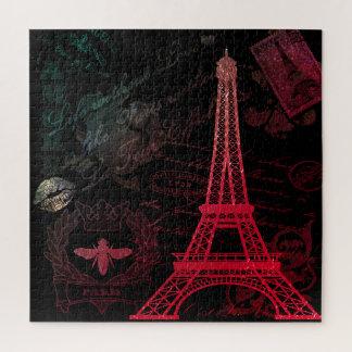 Quebra-cabeça Paris: Excursão Eiffel do La