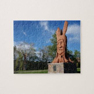 Quebra-cabeça Parque principal de Murray da estátua de Wasatch,