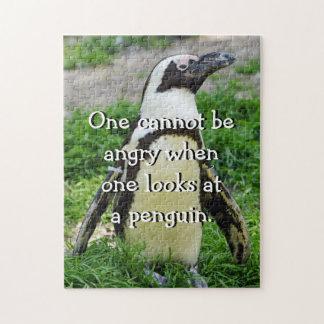 Quebra-cabeça Pinguim africano