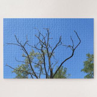 Quebra-cabeça Ramo seco e o céu azul