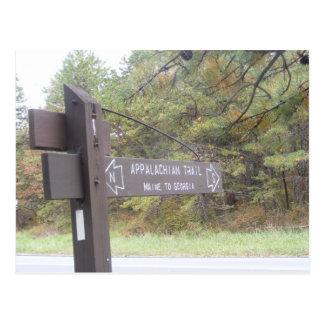 queda apalaches de Pensilvânia da fuga Cartão Postal