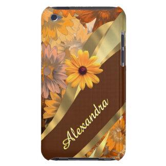 Queda bonito teste padrão personalizado floral capas iPod touch Case-Mate