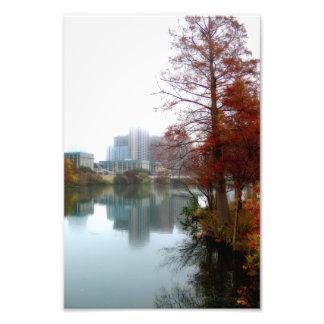 Queda do centro 3 de Austin Texas do lago ladybird Impressão Fotográficas