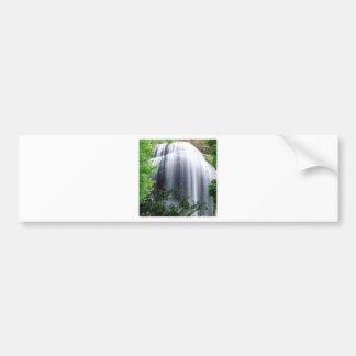 Quedas da prata da cachoeira adesivo para carro
